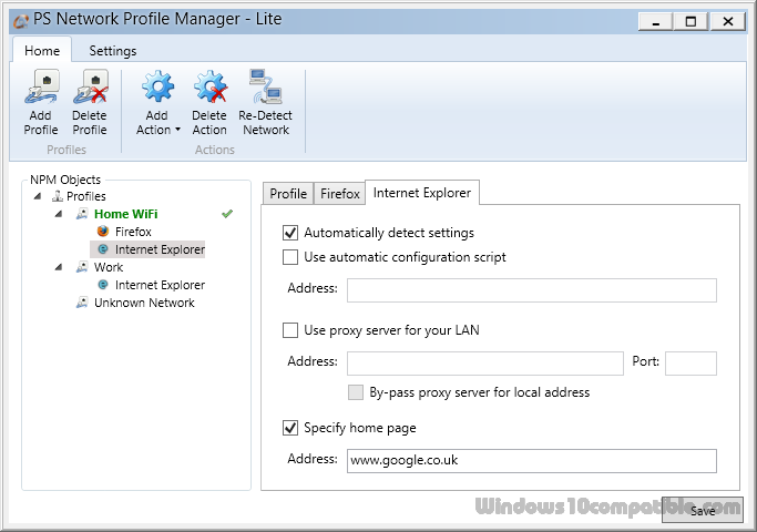 Network Profile Manager Lite 6 5 Free download